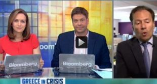 Ο Θεόδωρος Τρύφων στο Bloomberg για την ελληνική φαρμακοβιομηχανία