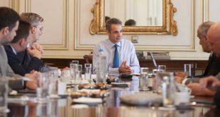 Σύσκεψη υπό τον Πρωθυπουργό για τον αντικαπνιστικό νόμο