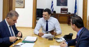 Συνάντηση Κικίλια με τον Πρόεδρο και τον Γ.Γ. του ΠΙΣ