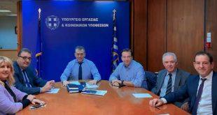 Συνάντηση ΠΙΣ με τον Yπουργό Εργασίας για το ασφαλιστικό