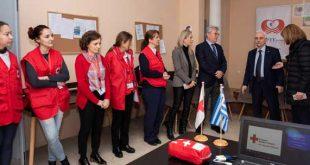 Το «προΣfΕΕρουμε» στα ΚΦΑΑ του Ελληνικού Ερυθρού Σταυρού στο κέντρο της Αθήνας