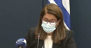 Βάνα Παπαευαγγέλου: 1388 νέα κρούσματα, 549 διασωληνωμένοι και 84 θάνατοι σήμερα – Σταθεροποίηση στη Βόρεια Ελλάδα