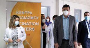 Στα Κέντρα Υγείας Αλεξάνδρας και Πατησίων ο Βασίλης Κικίλιας