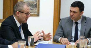 Συνάντηση Βασίλη Κικίλια με τον νέο περιφερειακό διευθυντή του ΠΟΥ, Δρ. Hans Kluge