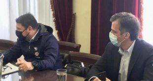 Ολοκληρώθηκε η επίσκεψη Χαρδαλιά στις Σέρρες – 239 τα ενεργά κρούσματα στην περιοχή