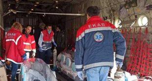 ΕΚΑΒ: Με επιτυχία ολοκληρώθηκε η αεροδιακομίδη των τριών διασωληνωμένων του Γ.Ν. Δράμας