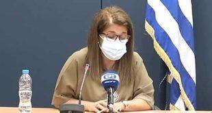 Βάνα Παπαευαγγέλου: Ένας στους τρεις Έλληνες με νόσο covid-19 διαμένει στην Αττική