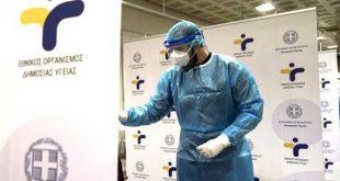 ΕΟΔΥ: Σε ποια σημεία της χώρας θα γίνονται σήμερα δωρεάν rapid test