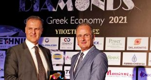 """Διάκριση της BMS στα """"Diamonds of the Greek Economy"""" για τη θετική συνεισφορά της στην Ελληνική Οικονομία"""