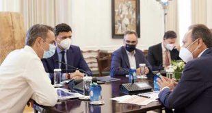 Συνάντηση Μητσοτάκη – ΠΕΦ: Η κατάσταση στον τομέα των επενδύσεων είναι η καλύτερη των τελευταίων δεκαετιών